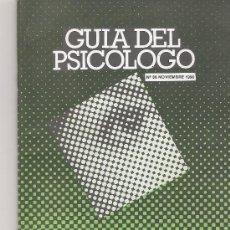 Coleccionismo de Revista Cambio 16: GUIA DEL PSICOLOGO Nº 93. Lote 16973313