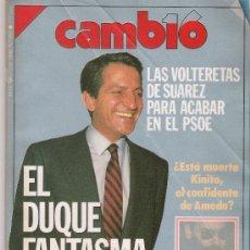 Coleccionismo de Revista Cambio 16: CAMBIO 16 Nº 953. Lote 16977033