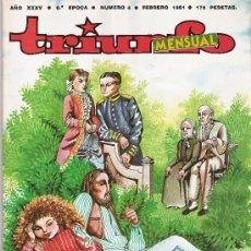 Coleccionismo de Revista Cambio 16: TRIUNFO MENSUAL - 6ª EPOCA Nº 4 -. Lote 16977043