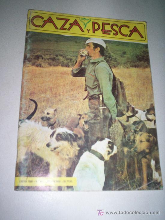 CAZA Y PESCA - ENERO 1980 Nº 445 (Coleccionismo - Revistas y Periódicos Modernos (a partir de 1.940) - Revista Cambio 16)