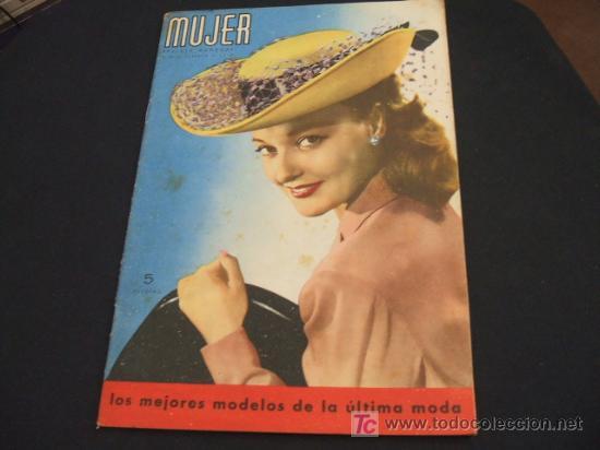 MUJER REVISTA MENSUAL- FEBRERO 1.948 - NUMERO 128 (Coleccionismo - Revistas y Periódicos Modernos (a partir de 1.940) - Revista Cambio 16)