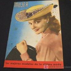 Coleccionismo de Revista Cambio 16: MUJER REVISTA MENSUAL- FEBRERO 1.948 - NUMERO 128. Lote 17059274