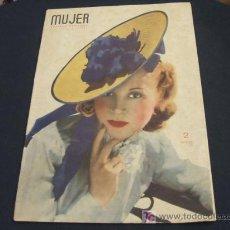 Coleccionismo de Revista Cambio 16: MUJER REVISTA MENSUAL- JULIO 1.941 - NUMERO 49. Lote 17059546