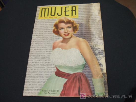 MUJER REVISTA MENSUAL- MAYO 1.955 - NUMERO 215 (Coleccionismo - Revistas y Periódicos Modernos (a partir de 1.940) - Revista Cambio 16)