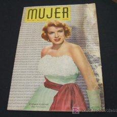 Coleccionismo de Revista Cambio 16: MUJER REVISTA MENSUAL- MAYO 1.955 - NUMERO 215. Lote 17059597