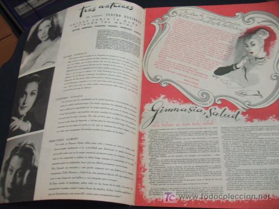 Coleccionismo de Revista Cambio 16: MUJER REVISTA MENSUAL- FEBRERO 1.948 - NUMERO 128 - Foto 2 - 17059274