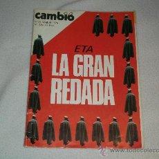 Coleccionismo de Revista Cambio 16: REVISTA CAMBIO 16 - ABRIL 1976 - EN PORTADA: ETA LA GRAN REDADA - Nº 228. Lote 26990146
