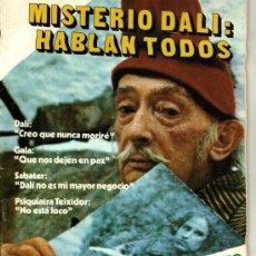 Coleccionismo de Revista Cambio 16: CAMBIO 16 MISTERIO DALI HABLAN TODOS SUAREZ TRABOLTA KENNEDY RENFE SEAT PANDA POTITO SEPTIEMBRE 1980. Lote 24604214
