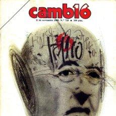 Coleccionismo de Revista Cambio 16: CAMBIO 16 11 NOVIEMBRE 1985. Lote 26552342