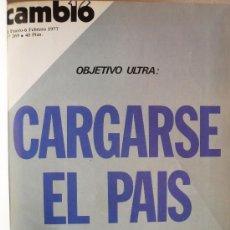 Coleccionismo de Revista Cambio 16: REVISTA CAMBIO 16 (ENCUADERNADA / TOMO III) . Lote 35782514