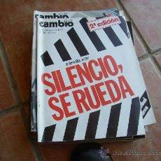 Colecionismo da Revista Cambio 16: CAMBIO 16, OCTUBRE 75, NUM.201 SILENCIO, SE RUEDA.. Lote 27624571