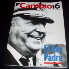 Coleccionismo de Revista Cambio 16: CAMBIO 16 - Nº 1113 - 22 MARZO 1993 - ESPECIAL EL PADRE DEL REY - DON JUAN DE BORBON. Lote 27869061