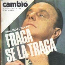 Coleccionismo de Revista Cambio 16: REVISTA CAMBIO 16. Lote 29165504