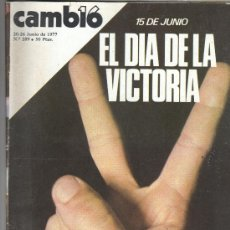Coleccionismo de Revista Cambio 16: REVISTA CAMBIO 16. Lote 29165718