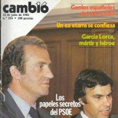 Coleccionismo de Revista Cambio 16: REVISTA CAMBIO 16. Lote 29166439
