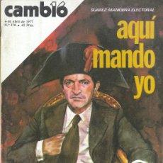 Coleccionismo de Revista Cambio 16: REVISTA CAMBIO 16. Lote 29166506