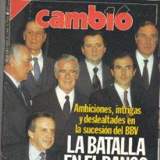 Coleccionismo de Revista Cambio 16: REVISTA CAMBIO 16. Lote 31012810