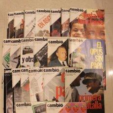 Coleccionismo de Revista Cambio 16: REVISTAS CAMBIO 16 - 1975. Lote 34176376
