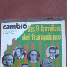 Coleccionismo de Revista Cambio 16: REVISTA CAMBIO16--(36 NUMEROS)CLAVES DE LA HISTORIA,TRANSICION,DEMOCRACIA, DE ESPAÑA(AÑO:75-76-77-78. Lote 34347915