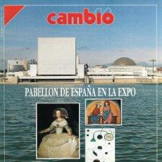 Coleccionismo de Revista Cambio 16: CAMBIO 16 N. 1065 (20 ABRIL 1992) - EXPO'92: MIL AÑOS DE ARTE ESPAÑOL. Lote 45995772