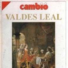 Coleccionismo de Revista Cambio 16: CAMBIO 16 N. 1007 (11 MARZO 1991) - VALDES LEAL, PINTOR DEL TIEMPO Y DE LA MUERTE. Lote 35814625
