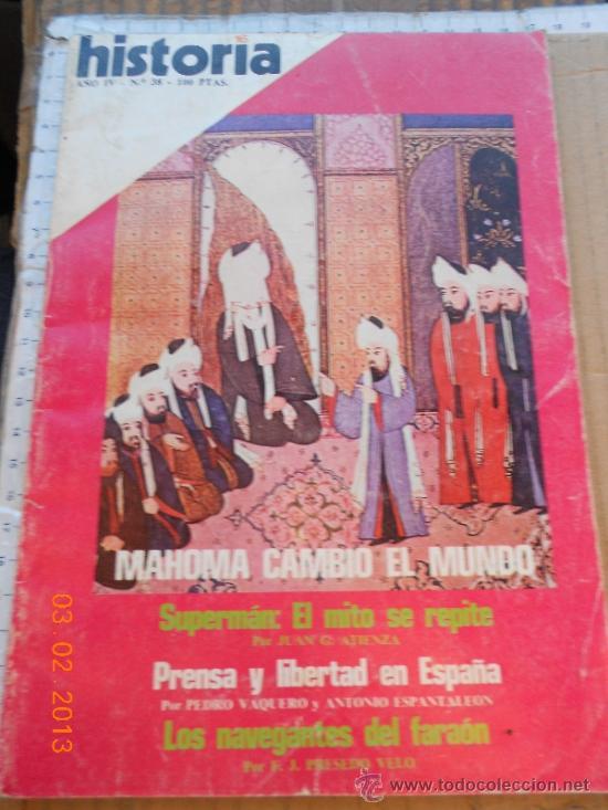 REVISTA: HISTORIA 16 38 INFORME EL NACIMIENTO DEL ISLAM MAHOMA CAMBIO EL MUNDO MRNA (Coleccionismo - Revistas y Periódicos Modernos (a partir de 1.940) - Revista Cambio 16)