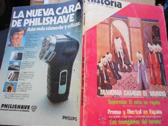 Coleccionismo de Revista Cambio 16: revista: historia 16 38 informe el nacimiento del islam mahoma cambio el mundo mrna - Foto 5 - 36109192