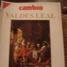 Coleccionismo de Revista Cambio 16: REVISTA CAMBIO 16 Nº 1007. VALDES LEAL. PINTOR DEL TIEMPO Y DE LA MERTE. Lote 35978353