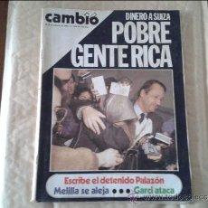 Coleccionismo de Revista Cambio 16: CAMBIO 16 Nº 690. Lote 36588965