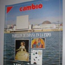 Coleccionismo de Revista Cambio 16: CAMBIO 16 N.1065 AÑO 1992( MIL AÑOS DE ARTE ESPAÑOL). Lote 38091602