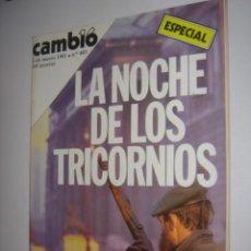 Collezionismo di Rivista Cambio 16: CAMBIO 16 N 483 AÑO 1981( EL GOBIERNO NO QUIERE SACAR LOS DATOS DE LA CRISIS ). Lote 38092408