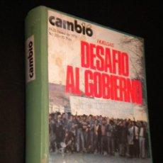 Coleccionismo de Revista Cambio 16: OJO CAMBIO 16 / TOMO DE 14 REVISTA ENCUADERNADAS / VER DESCRIPCION. Lote 39920490