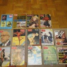 Coleccionismo de Revista Cambio 16: M69 LOTE DE 14 REVISTAS AÑOS 70 ABC DOMINICAL DIEZ MINUTOS AMA CAMBIO 16 LA ACTUALIDAD BOXEO. Lote 40018865