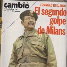 Coleccionismo de Revista Cambio 16: CAMBIO16 DEL 12 DE ABRIL DE 1982. Lote 40957969