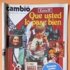 Coleccionismo de Revista Cambio 16: CAMBIO 16. QUE USTED LO PASE BIEN. EXTRA 79. 24 DE DICIEMBRE DE 1978. Nº 368 - DIVERSOS AUTORES. Lote 43542162