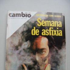 Coleccionismo de Revista Cambio 16: REVISTA CAMBIO 16 Nº 419.AÑO 1979: CONTAMINACION-FELIPE-SUAREZ-CARRILLO-DALÍ. Lote 46939607