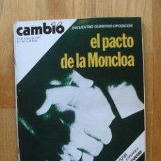Coleccionismo de Revista Cambio 16: REVISTA CAMBIO 16, ENERO 1977, NUMERO 267. Lote 47017688