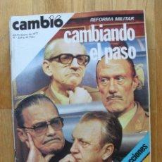 Coleccionismo de Revista Cambio 16: REVISTA CAMBIO 16, ENERO 1977, NUMERO 268. Lote 47017719