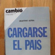 Coleccionismo de Revista Cambio 16: REVISTA CAMBIO 16, ENERO,FEBRERO 1977, NUMERO 269. Lote 47017746