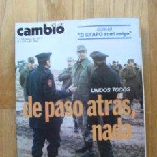 Coleccionismo de Revista Cambio 16: REVISTA CAMBIO 16, FEBRERO 1977, NUMERO 270. Lote 47017767
