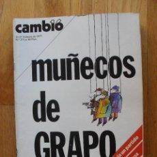 Coleccionismo de Revista Cambio 16: REVISTA CAMBIO 16, FEBRERO 1977, NUMERO 272. Lote 47017798