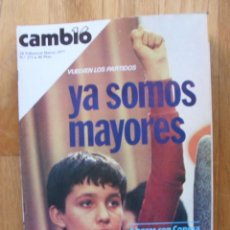 Coleccionismo de Revista Cambio 16: REVISTA CAMBIO 16, FEBRERO 1977, NUMERO 273. Lote 47017824