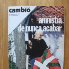 Coleccionismo de Revista Cambio 16: REVISTA CAMBIO 16, MARZO 1977, NUMERO 275. Lote 47018004