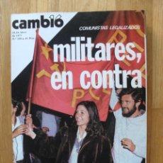 Coleccionismo de Revista Cambio 16: REVISTA CAMBIO 16, ABRIL 1977, NUMERO 280. Lote 47018144