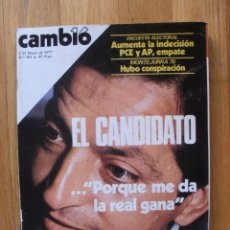 Coleccionismo de Revista Cambio 16: REVISTA CAMBIO 16, MAYO 1977, NUMERO 283. Lote 47018207