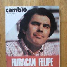 Coleccionismo de Revista Cambio 16: REVISTA CAMBIO 16, JUNIO 1977, NUMERO 287. Lote 47018390