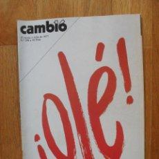 Coleccionismo de Revista Cambio 16: REVISTA CAMBIO 16, JUNIO 1977, NUMERO 290. Lote 47018456