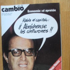Coleccionismo de Revista Cambio 16: REVISTA CAMBIO 16, JULIO 1977, NUMERO 293. Lote 47018523