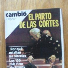 Coleccionismo de Revista Cambio 16: REVISTA CAMBIO 16, AGOSTO 1977, NUMERO 295. Lote 47018776