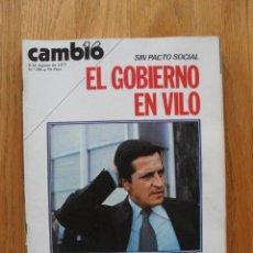 Coleccionismo de Revista Cambio 16: REVISTA CAMBIO 16, AGOSTO 1977, NUMERO 296. Lote 47018821